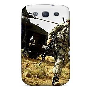Flexible Tpu Back Case Cover For Galaxy S3 - Soldier