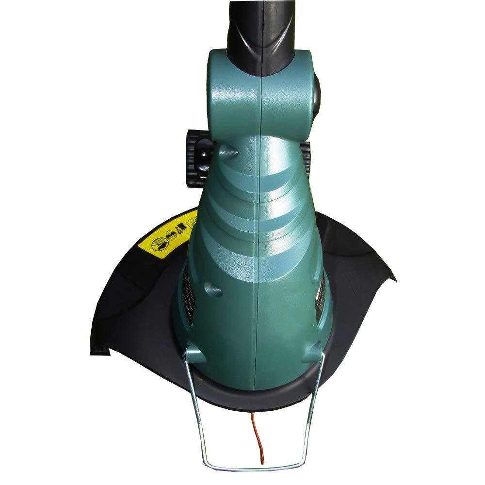 Blumenschutz und Laufrad zum Kantenschneiden Teleskopstiel 1.3Ah Li-ion Akku CROSSFER Akku-Rasentrimmer NOE-5ET-230 18V mit 25cm Schnittbreite inkl Ladeger/ät und Fadenspule