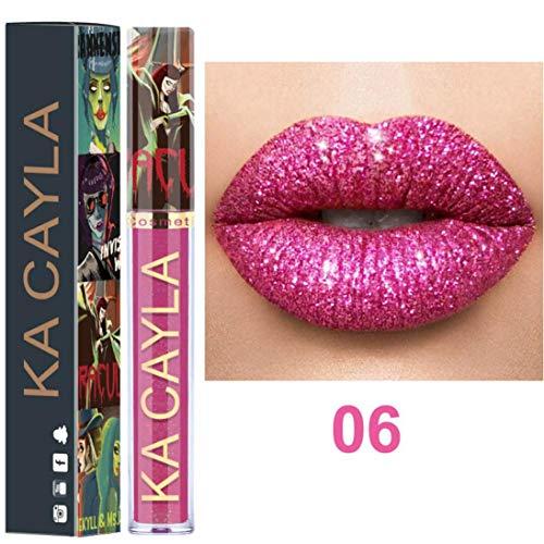 - Sdoo 8 Colors Matte Velvet Lipstick Set, Long Lasting Velvet Liquid Lipstick Natural Waterproof Nude Sexy Lip Gloss Cosmetics Kit (F)