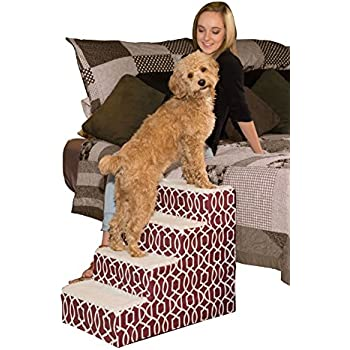 Amazon.com : TeleBrands Deluxe Doggy Steps - 3 Steps : Pet