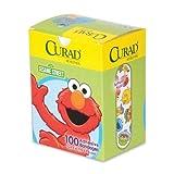 "3 Box of 100 Medline Sesame Street 3/4"" x 3"" Latex-free Bandages bundled by Maven Gifts"