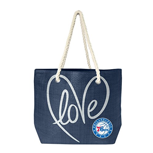 NBA Philadelphia 76ers Rope Tote Bag by Littlearth