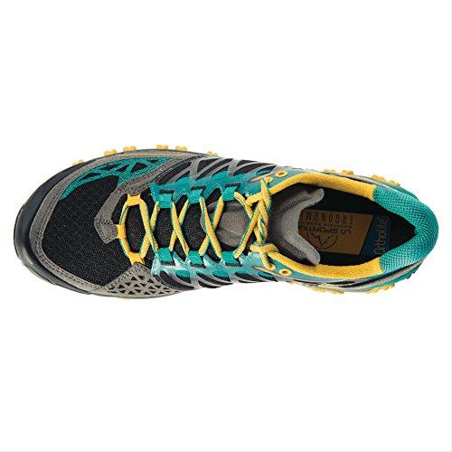 Men's Green Running Shoe Grey Bushido Sportiva La IqgwBBz