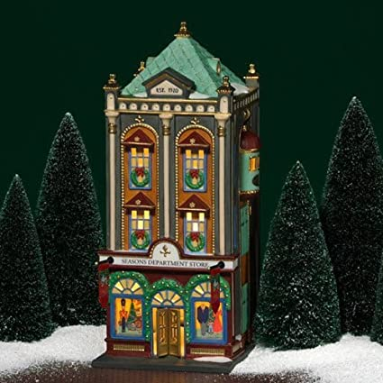 dept 56 christmas in the city seasons department store 59201