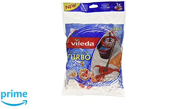 Vileda Turbo 2in1 - Recambio Microfibras y Poliamida: Amazon.es: Amazon Pantry