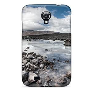 Hot Design Premium UXucQcl3359agwVV Tpu Case Cover Galaxy S4 Protection Case(pools Of Water On A Rocky Plain)
