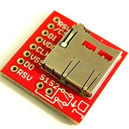 Placa SD para tarjetas microSD Transflash: Amazon.es: Informática