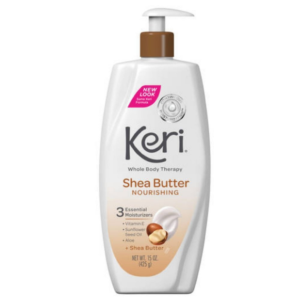 Keri Whole Body Therapy Nourishing Shea Butter Lotion 15 oz (Pack Of 3) by Keri