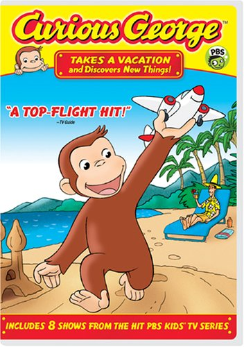 Curious George - Takes a Vacation & Discovers New - Rapids Grand Macys