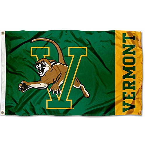College Flags and Banners Co. Vermont Catamounts Flag ()