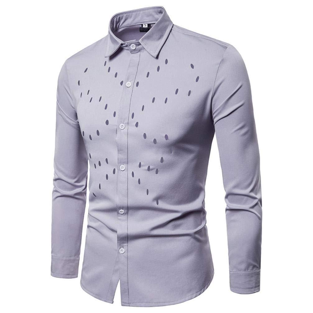 Easytoy - Camisa de Vestir para Hombre, Ajuste Regular, Manga ...