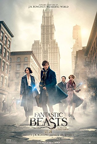 FANTASTIC BEASTS AND WHERE TO FIND THEM 11'x17' Original Promo Movie Poster J.K. Rowling