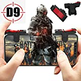 Mobile Game Controller Gamepad, Mobile Phone Trigger Aim Button L1R1 Shooter Joystick for PUBG/Fornite/Knives Out/Rules of Survival
