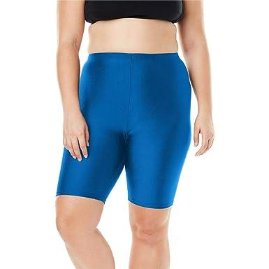 a45d2d1373 Woman Within Plus Size Swim Bike Short at Amazon Women's Clothing store:
