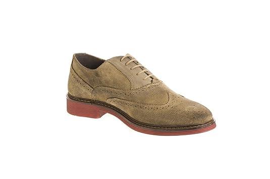 e7226485ae97e PIER ONE PierOne, Chaussures de ville à lacets pour homme - Beige - Beige,  45 EU  Amazon.fr  Chaussures et Sacs
