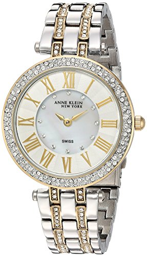 Anne Klein Swiss Watches (Anne Klein New York Women's Swiss Quartz Metal and Alloy Dress Watch, Color:Two Tone (Model:)
