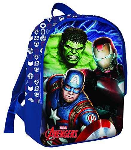 Coriex Stormy Line Avengers Rucksack Kinderrucksack, Mehrfarbig, M