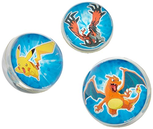 6 Count Pokemon Bounce Balls, Blue -