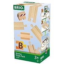 Brio Starter Track Pack Juego Primera Edad, Color Madera (33394)
