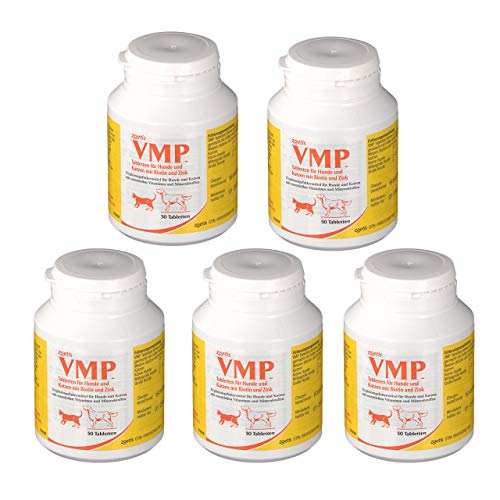 Zoetis 5×50 VMP Tablets = 250 units for Dogs & Cats