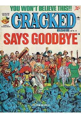 (Cracked #133 POOR ; Globe comic book)