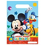 football loot bags - Disney Mickey Mouse Playful Clubhouse 6 Pack Party Loot Bag Plastic