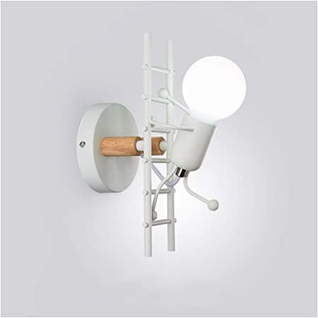 Iluminación de noche Nordic lámpara de pared, la personalidad ...
