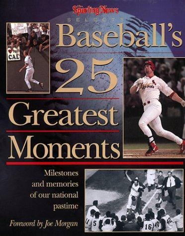 Download Baseball's 25 Greatest Moments PDF