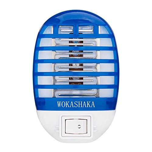 WOKASHAKA Bug Zapper Electronic Mosquito Killer Electronic Insects Killer Eliminates Most Flying Pests, Mosquito & Insect Killer, Gnat Trap