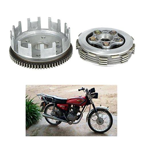 cargool motocicleta motor Asamblea embrague acero inoxidable motor de moto Motor de motocicleta accesorios de embrague para Honda CG125 2002 - 2016, ...
