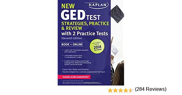 New GED® Test Strategies, Practice, and Review with 2 Practice ...