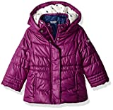 Osh Kosh Baby Girls 4-in-1 Midweight Systems Jacket, Berry Treat/Heart/Indigo, 12M