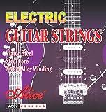 Alice A507-SL Electric Guitar Strings,6 Strings/Set,Super Light.009-.042,Anti-Rust Coating