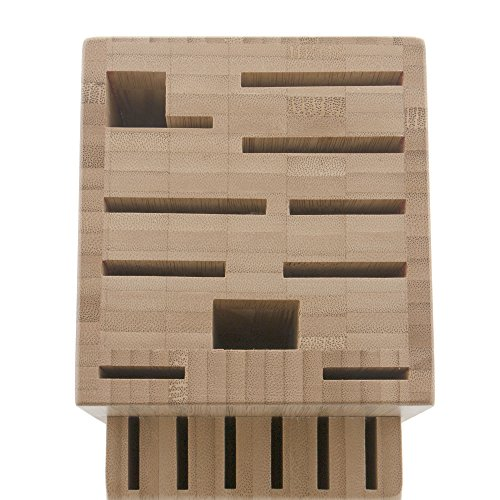 ZWILLING J.A. Henckels TWIN 16-slot Knife Block - Bamboo by ZWILLING J.A. Henckels (Image #3)