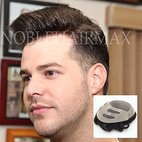 Amazon.com : Durable Mens Toupee Human Hair