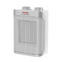 GLAMOURIC Ceramic Space Heater with 1500W ETL Listed Hot & Cool PTC Heater (White), Overheat Protection