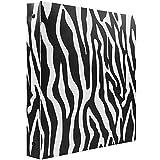 zebra office supplies - JAM Paper Animal Print Flexible 1 inch Binder - Zebra Design 3 Ring Binder - Sold Individually