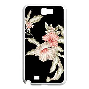 SYYCH Phone case Of Bright Color Flower 2 Cover Case For Samsung Galaxy Note 2 N7100