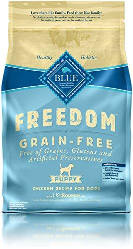BLUE Freedom Puppy Grain Free Chicken Dry Dog Food 4-lb