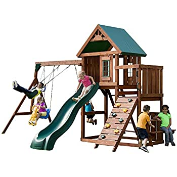 Amazon Com Swing N Slide Pb 9241 1 Knightsbridge Wooden