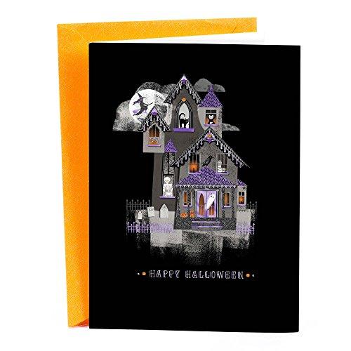 Hallmark Signature Halloween Card (Haunted House) -