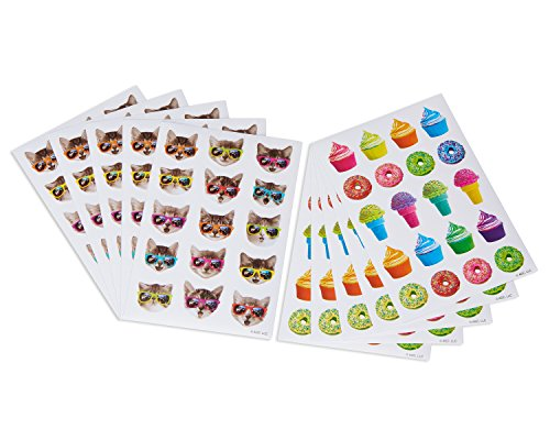 American Greetings Cool Cats Sticker Sheets (10) Cat Sticker Sheet