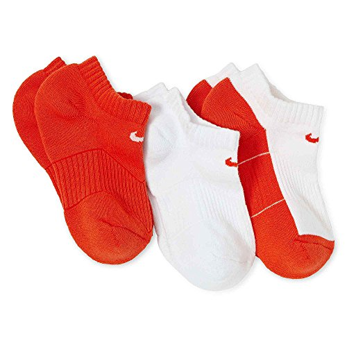 Nike Womens Cotton Cushion No-Show Socks (S, 989)