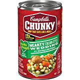 Campbell's Chunky Healthy Request Hearty Italian-Style Wedding with Meatballs and Spinach Soup, 18.6 oz. Can (Pack of 12)