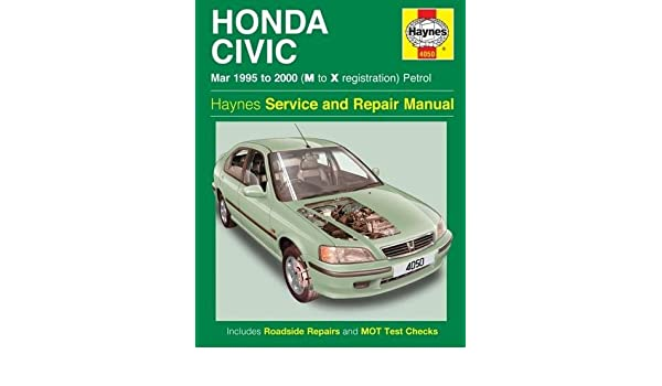Honda Civic Service And Repair Manual: 95-00: Amazon.es: Haynes Publishing: Libros en idiomas extranjeros
