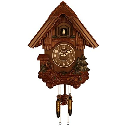Amazon com: Sinix SN693WC Handcrafted Antique Wooden Cuckoo
