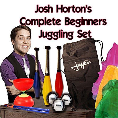 Zeekio Josh Horton Complete Beginner Juggling Set for Kids]()