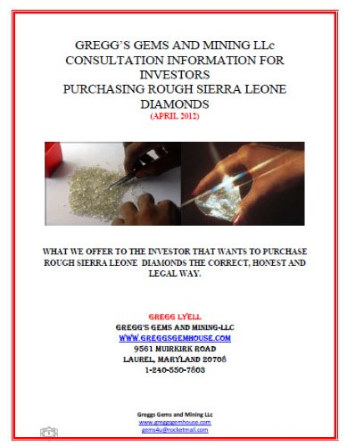 Gregg's Gems and Mining Consulting Services (Buying Rough Diamonds Sierra ()