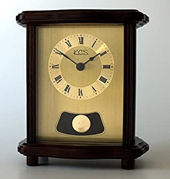 Analoge Tischuhr Standuhr QuotCrcyquot Uhr Retrolook Antik Pendel
