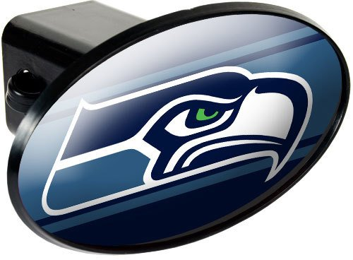 - Seattle Seahawks NFL Trailer Hitch Cover SKU-PAS1046495
